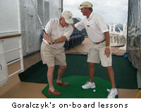 Goralczyk's on-board lessons