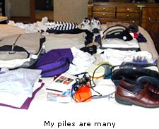 My piles are many