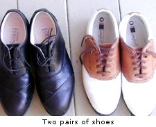 Two pairs of shoes
