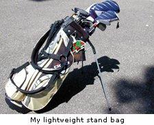My lightweight stand bag
